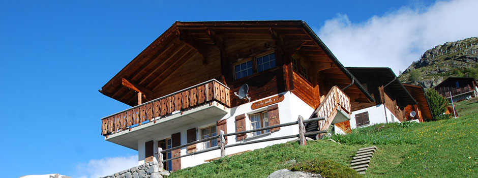 Front of Chalet Wachsmuth